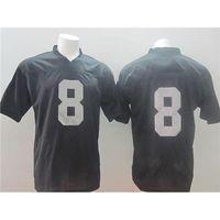 Football Men Short Cheap Matt Schaub Jerseys On Field #8 Black Elite Football Jerseys 2014 New Season High Quality Stitched American Football Jersey