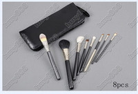leather pieces - Factory Direct Set New Makeup Brushes pieces brush sets leather pouch with numbered