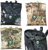 Wholesale New color New Large Capacity Molle Tactical Airsoft Paintball Hunting Folding Mag Recovery Dump Pouch camouflage