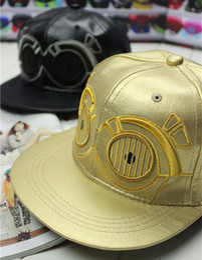 Wholesale New Star Wars alien cartoon baseball cap flat along the hip hop hat cap influx of men and women pink Sipi