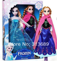 Wholesale Brinquedos Real Fashion Retail Frozen Doll Princesses New Anna Elsa Inch Baby Action Figures Dolls Toys And Toy