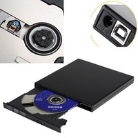 Wholesale External Slot DVD CD RW Drive Burner Superdrive for PC MacBook Pro Air