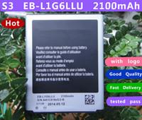 Wholesale 2 mah EB L1G6LLU battery For Samsung Galaxy S3 i9300 Battery High Quality