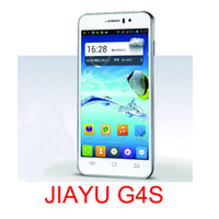 Wholesale JIAYU G4S quot IPS Cell Phones mobile phone with Multi touch original phone GB mAH