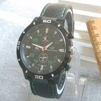 Sport Unisex Round Fashion 2014 Grand Touring GT F1 Men Sport Quartz Watch Military Watches Army Japan PC Movement Wristwatch Men's Watches