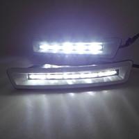 bars toyota fj cruiser - 2700 case for Land Cruiser case for Prado bar lights DRL LED daytime running lights dedicated FJ150