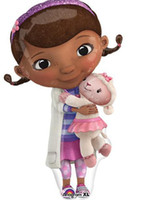 Wholesale OP New Arrival Cartoon Movie Doc McStuffin Plush Toys Doc McStuffins Plush Doll cm Lambie Plush cm Set