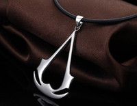 Pendant Necklaces assassin pendant - New Assassins Statement Necklace Creed III Cosplay Costume Jewelry Sterling Silver Necklace Pendant Women Man Jewelry