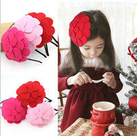 band issues - 3 Color New Baby Flower Hair Accessories Girl Flower Hair bands Children Issuing Girl Barrettes Headdress K142AB
