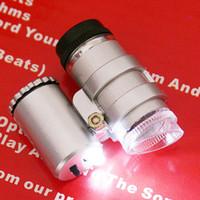 led microscope - Hot X LED Mini Pocket Microscope Magnifier Jeweler Loupe H1837