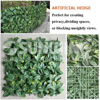 Wholesale UV proof cmX50cm arSGS certificate UV ptificial leaves green foliage green leaf artificial ivy wall fencing garden G0602A003