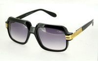 Wholesale Germany Top brand Designer Cazal Sunglasses Cazal Men Women Vitage Gradient lens Sunglasses with Clear lens Optical eyeglasses frame c60