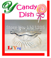 Wholesale 24pc Children Mini Candy Dish Nut AS Tray cm Spiral lines for snack biscuits Edible safety Fruit Ice Cream Bowl Plate Compote for kids