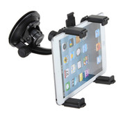 Wholesale 360 Rotatable Universal Car Cradle Mount Holder Windshield For iPad For HTC Flyer For Samsung Tab Note Note