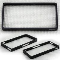Bumper Aluminum Dirt-resistant Substantial Black Aluminum Alloy Bumper Frame Case for Sony Xperia Z L36h