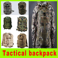 Wholesale 8L L Multifunctional P backpack U S military tactical waterproof camouflage backpack enthusiasts leisure riding bag colors A254L