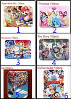 Wholesale New Arrival Funny Cartoon Paper jigsaw puzzle for Children Puzzles for Kids Learning Education Toy Gift