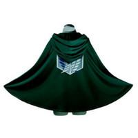 Wholesale Bingo Pop Attack on Titan Shingeki no Kyojin Scouting Legion Top Cosplay Grade Cloak Cape