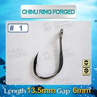 Wholesale Sea Fishhook Chinu Ring Forged Fishing Hooks Factory