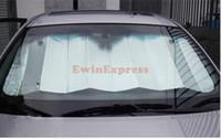 AS PHOTO auto shade - 5x Foldable Auto Front Rear Sun Shade Car Windshield Visor Cover cm