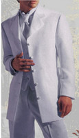 Wool Blend Reference Images Three-Button New style as the five buttons white dress the best man for the wedding the groom, holds the man the groom suit