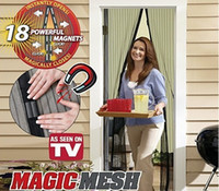 Wholesale Magic Mesh Hands free Screen Door Anti Mosquito Bug Great for Pets Hot TV products with package Free DHL L