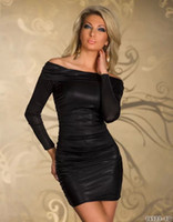 Wholesale Women s Hot Metallic Off Shoulder Ruched Dress