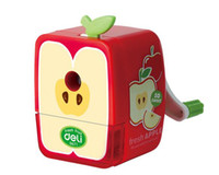 Wholesale School stationery fashion Fruits pencil sharpener christmas gifts for kids