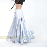 Wholesale 2014 Women s Belly Dance Costume Multi Colors Satin Dress Long Gypsy Skirts Colors Available tq001