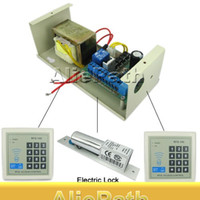Wholesale 4 In RFID Proximity Entry Lock Door Access Control Keypad System Kit with Card Readers Set