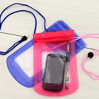 Wholesale Waterproof PVC Diving Bag Underwater Pouch Case For mobile iPhone S S C Samsung Galaxy S3 S4 S5 HTC M8 Sony With Armband