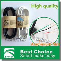 Wholesale S5 Cable Micro USB Charger Cable S4 Cables Sync Data Wire M FT Pieces For Samsung Note2 S3 NOTE4 HTC M8 Huawei Lenovo Blackberry