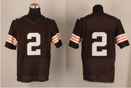 Wholesale Cheap Johnny Manziel Football Jerseys Top Selling American Football Player Jerseys Stitched Authentic Football Uniforms Best Sportswear