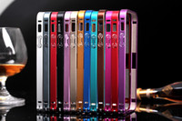 Wholesale - Slim Metal Bumper Case Cover for iPhone 5 5S iPh...