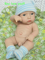 "Unisex Birth-12 months Vinyl Wholesale-12"" baby dollsDoll Lifelike Reborn Baby Girl cute Doll for Children's Day small dolls toys"