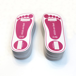 Wholesale disposable SPRAY TANNING STICKY FEET STICK PINK PAIRS