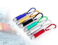 Cheap Mini 3 in 1 Keychain LED Flashlight Light Red Beam Laser Pointer Pen Ultraviolet Lamp Key Chain Free Shipping 250pcs