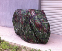 Wholesale Camouflage Motorcycle Waterproof Outdoor Motorbike Bike Moped Dust Prevent Rain Cover XXL Size cm HM309A2