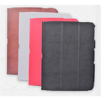 10.1'' 10.1 tablet case - Latest Tablet Leather Case Soft Feel Best Tablet Accessories Stand Style Folio Cases For Tab i