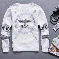 Wholesale HOT SALE New Men Women boy london D loose Long SLeeve Punk eagle printed Hoodies Sweatshirts Galaxy sweaters Pullover Tops