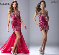 Sweetheart dhgate - Janique Designer Cheap Short Prom Dresses On Sale Under Fashion Sweetheart Sheath Crystal Beads Sequins Party Dresses Dhgate Com Olesa