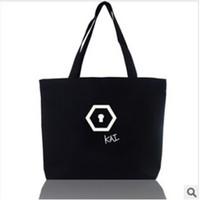 Wholesale 2014 new KPOP EXO Handbag EXO K EXO M Overdose New Style Inclined Shoulder Bag Canvas Bag Luhan Sehun frozenc464