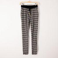 Wholesale New Spring fashion Ladies Elegant Polka dot Print Harem pants women slim Sports pants capris Colors S M L XL