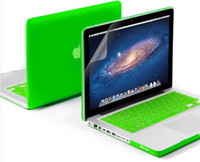 Hasp apple macbook air keyboards - Candy Color Matte Rubberized Hard Case Cover Free Silicone Keyboard Skin For Apple Macbook Air Pro Retina