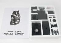Wholesale Factory price dropshipping DIY Adoult LOMO Camera Science Vo1 Twin Lens Reflex TLR Camera Holga Recesky
