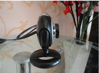 Wholesale 10pcs web cam computer camera digital USB LED Webcam with Mic Digital Camera usb webcam pc webcam