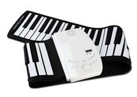 Wholesale 2015 New Keys thickened Flexible Roll Up Soft Electronic Keyboard Piano Musical Instruments DHL Freeshipping