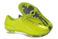 Wholesale IX CR FG Boots Football Shoes Training Sports Shoes Cheap On Sale Hypervenom Phantom FG Boots Charcoal Crimson Blk