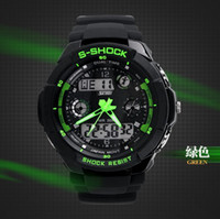 Wholesale Fashion Skmei Sports Brand Watch Men s Shock Resistant Quartz Wristwatches Digital And Analog Military LED Casual Watches