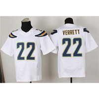 Wholesale New Draft Jason Verrett New Football Wears White color Fashion Elite Jerseys Uniforms American Footbal Sports Wears Mens Jerseys